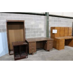 desks, bookcase, cabinet, credenza, Selling Offsite: Located in Tuscaloosa, AL