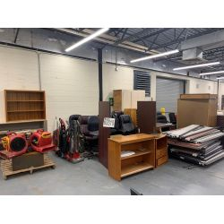 chairs, vacuums, fans, cabinets, Selling Offsite: Located in Montgomery, AL