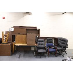 chairs, desks, Selling Offsite: Located in Montgomery, AL