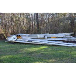 light poles, Selling Offsite: Located in Grove Hill, AL
