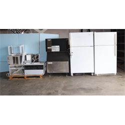 refrigerator, ice machine, A/C window unit, Selling Offsite: Located in Mobile, AL
