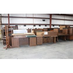bookcases, desks, credenza, conference tables, drafting tables, Selling Offsite: Located in Mobile,