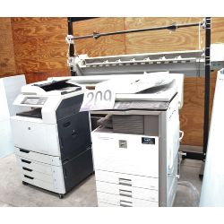 copiers, electro-plotter, roll dispenser and cutter, Selling Offsite: Located in Montgomery, AL