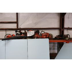 concrete saws, chain saws, grass trimmers, blowers, Selling Offsite: Located in Troy, AL