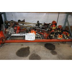 impact wrenches, grass trimmers, chain saws, demolition saws, Selling Offsite: Located in Troy, AL