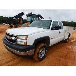 2006 CHEVROLET 2500HD Service / Mechanic / Utility Truck