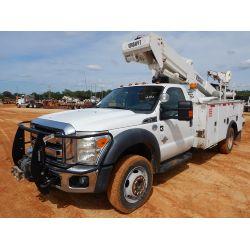 2012 FORD F550 Boom / Bucket / Crane Truck