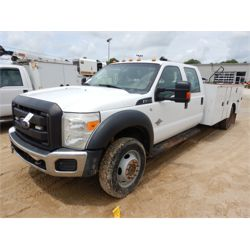 2014 FORD F550 Service / Mechanic / Utility Truck