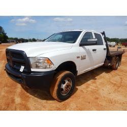 RAM 2014 3500 Flatbed Truck