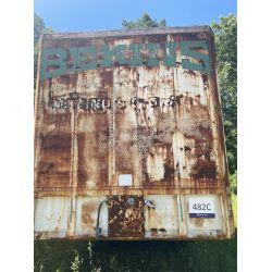 1964 KENT Dry Box Van Storage Trailer