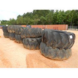 (10) log skidder tires (A4)