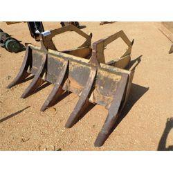 stacking rake, fits log skidder (A3)