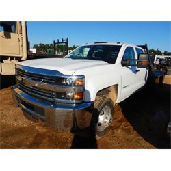 2017 CHEVROLET 3500HD Flatbed Truck