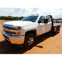 2018 CHEVROLET 3500HD Flatbed Truck