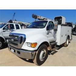 2006 FORD F750 Service / Mechanic / Utility Truck