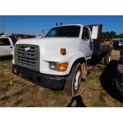 1995 FORD E-SERIES Flatbed Truck