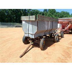 10' galv farm trailer w/rear discharge (C1)