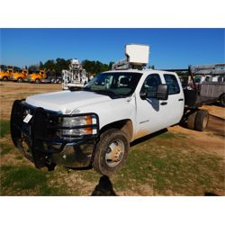 2010 CHEVROLET 3500HD Flatbed Truck
