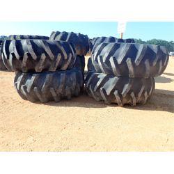 (4) 23.1-26 tires & 14 hole John Deere rims (A-4)