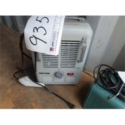 Patton electric heater (in container)