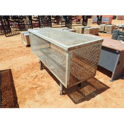 6' expanded metal storage cage (C6)