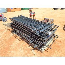 "(1) pallet 42"" metal  fencing (C6)"