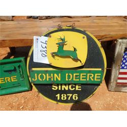 John Deere metal sign (C6)