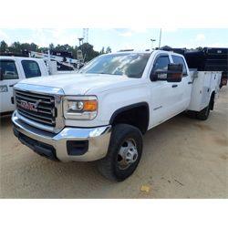 2015 GMC 3500HD Service / Mechanic / Utility Truck