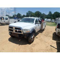 2011 DODGE RAM 5500 Service / Mechanic / Utility Truck
