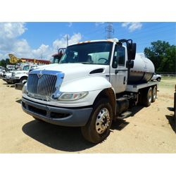 2009 INTERNATIONAL 4400 Sewer Rodder Truck