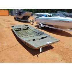 14' alum jon boat (C-8)