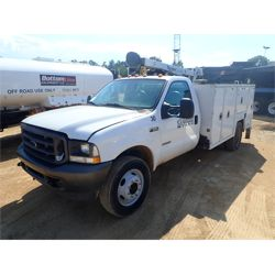 2004 FORD F550 Service / Mechanic / Utility Truck
