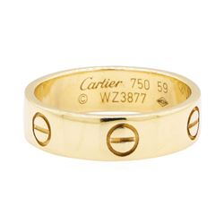 Cartier 18KT Yellow Gold Love Ring