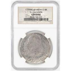 1779MO FF Mexico 8 Reales El Cazador Shipwreck Coin NGC Genuine