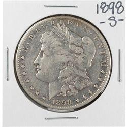 1898-S $1 Morgan Silver Dollar Coin