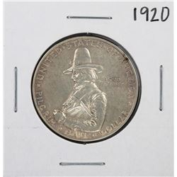 1920 Pilgrim Commemorative Half Dollar Silver Coin