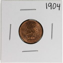 1904 Indian Head Cent Coin