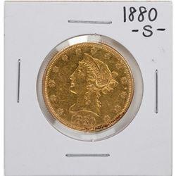 1880-S $10 Liberty Head Eagle Gold Coin