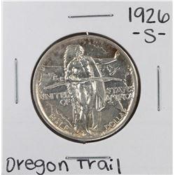 1926 Oregon Trail Commemorative Half Dollar Coin