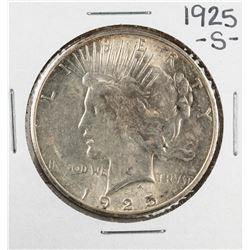 1925-S $1 Morgan Silver Dollar Coin