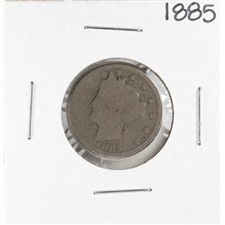 1885 Barber Liberty V Nickel Coin