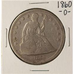 1860-O $1 Seated Liberty Silver Dollar Coin