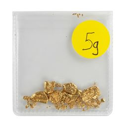 Lot of Gold Nuggets 5.0 Grams Gold Weight