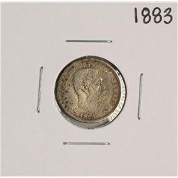 1883 Kingdom of Hawaii Dime Coin