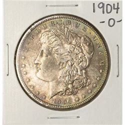 1904-O $1 Morgan Silver Dollar Coin Nice Toning