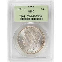 1899-O $1 Morgan Silver Dollar Coin PCGS MS65 OGH