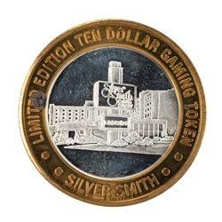 .999 Silver Silver Smith Casino Resort Wendover, NV $10 Limited Edition Gaming Token