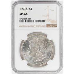 1903-O $1 Morgan Silver Dollar Coin NGC MS64