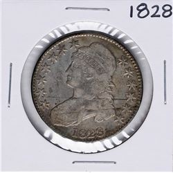 1828 Capped Bust Half Dollar Coin