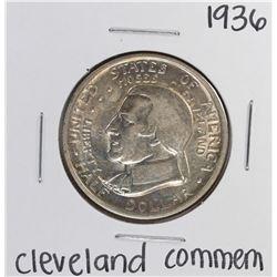 1936 Cleveland Centennial Commemorative Half Dollar Coin